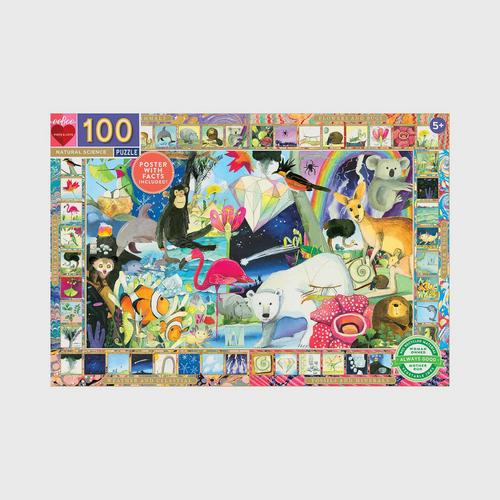 EEBOO - Natural Science 100pc puzzle