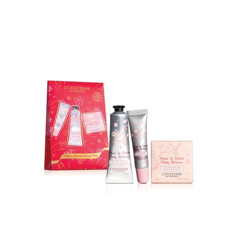L'OCCITANE Cherry Blossom Beauty Trio (Holiday Limited Edition)