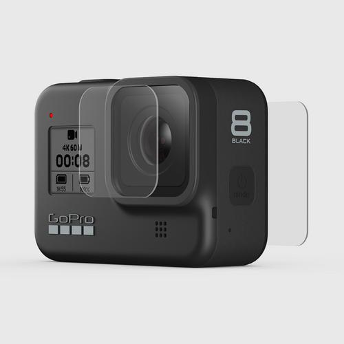 GoPro Tempered Glass Lens + Screen Protectors For GoPro Hero 8 Black