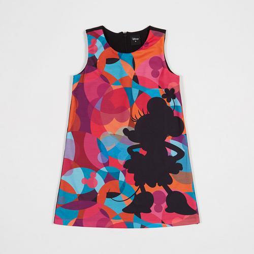 Disney Girl Dress Minnie Print-S