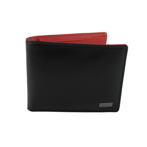 JACOB MEN WALLET (BLACK/RED)