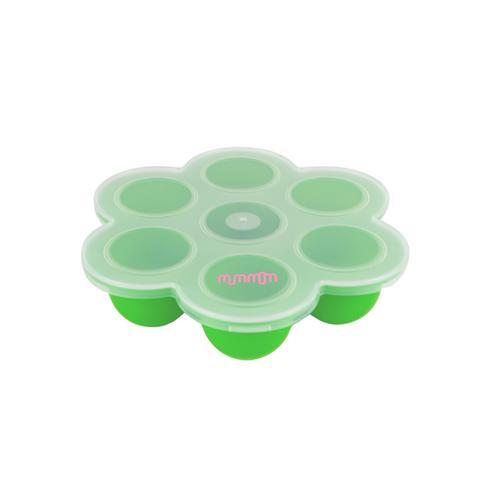 mummom Silicone food stock tray Green