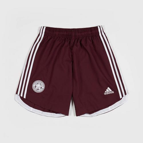 Leicester City Football Club Maroon Away Short 2020-2021 Size XS