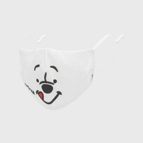 DISNEY Fabric Mask POOH  YUMMY White