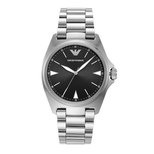 EMPORIO ARMANI Nicola Analog Silver Stainless Steel Watch
