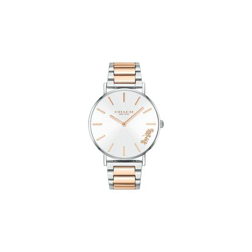 COACH 36mm Perry Two-Tone Steel Ladies Watch