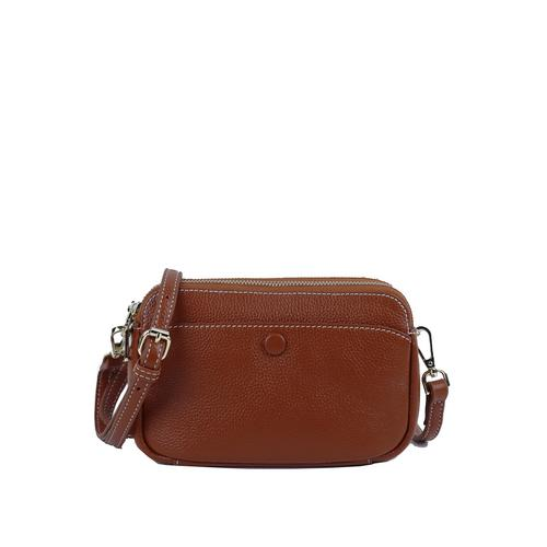 Me Phenomenon  SUN CLUTCH  & SHOULDER BAG Brown