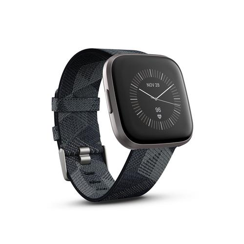 Fitbit Versa 2 NFC Smoke Woven/Mist Grey Aluminum Special Edition