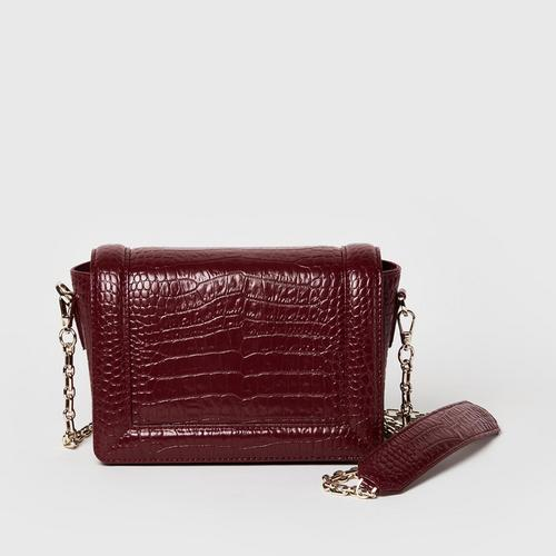 Longlai Small Crossbody Red Colour