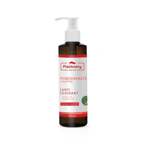 PLANTNERY™ POMEGRANATE FACIAL CLEANSER 250 ML.