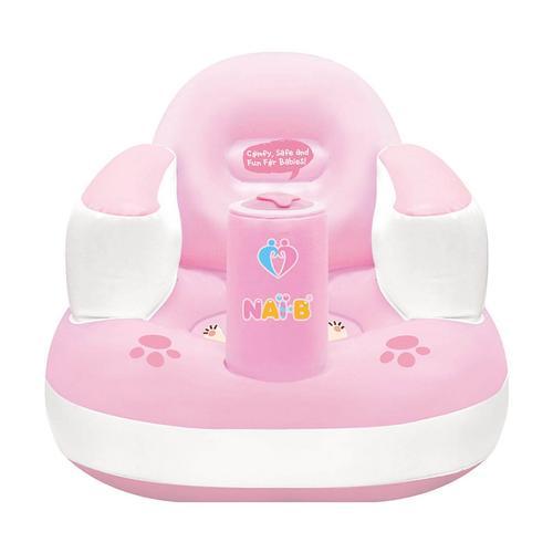 Nai-B Inflatable Baby Chair Pink