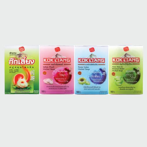 KOKLIANG HERBAL SOAP SET 90G