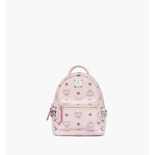 MCM Extra Mini Stark Bebo Boo Backpack in Visetos