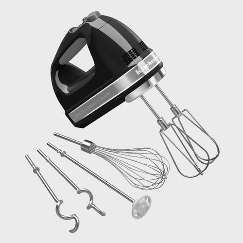 KitchenAid Hand Mixer 9 Speed - Onyx Black