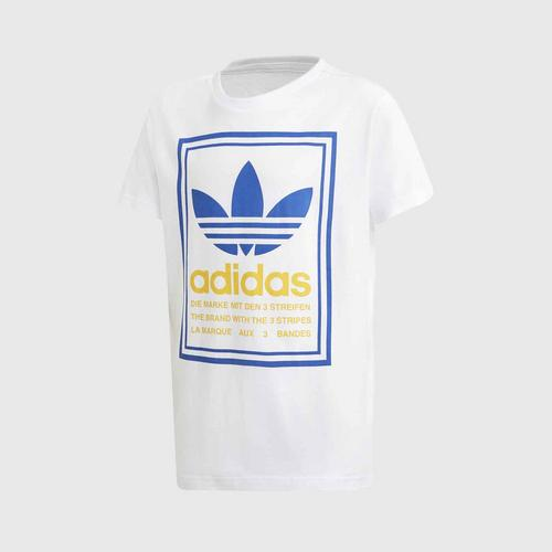 ADIDAS Graphic Tee- Size 128cm UK