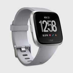 FITBIT Versa™ Watch - Grey/Silver Aluminum