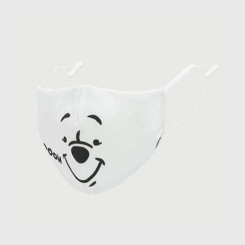 DISNEY Fabric Mask P IS POOH White