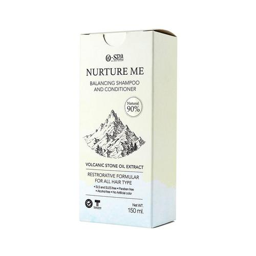 O-SPA Nurture Me : Balancing Shampoo and conditioner 159ml.