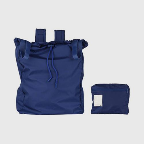 LACOSTE Men's Lacoste Motion Collapsible Backpack Tote Bag - Sodalite Blue