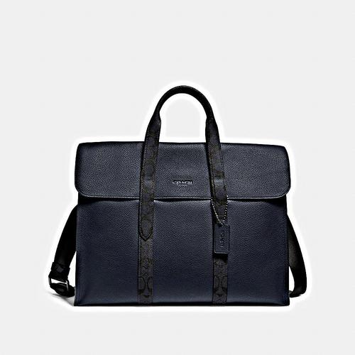COACH Signature Metropolitan Portfolio - JI/Midnight Navy/Charcoal