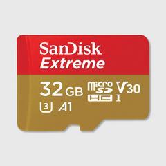 SANDISK EXTREME microSD UHS-I CARD-32GB