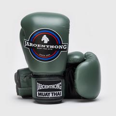 MUAY THAI STREET Boxing size 10 OZ. - Dark Green