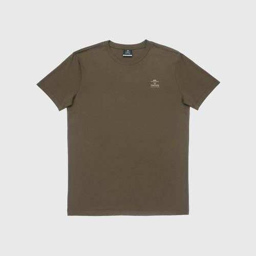 "Double Goose ""Thai Tone Collection"" Crew Neck Solid T-Shirt - Samrit color Size S"