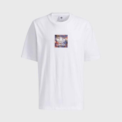 ADIDASCNY Graphic Tee T-Shirt - White - XS UK