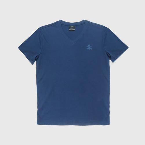"Double Goose ""Thai Tone Collection"" V neck Solid T-Shirt - Mekkhram color Size S"