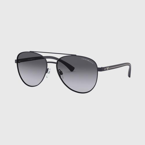 EMPORIO ARMANI  0EA2079 Matt Black 58mm Sunglasses
