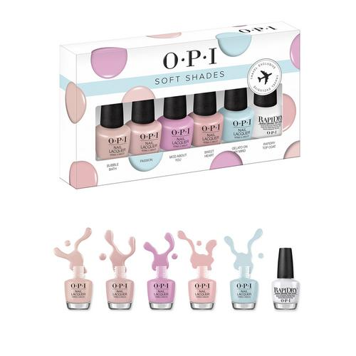 OPI Soft Shades Travel Exclusive set