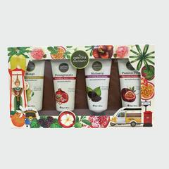 Phutawan Tropical hand cream set 160 g.(40g.*4)