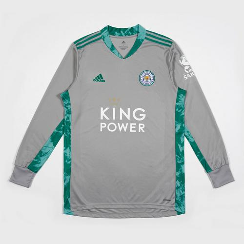 Leicester City Football Club Goalkeeper Shirt grey 2020-2021 Size S