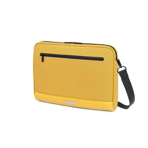"MOLESKINE Metro Horizontal Device Bag 15"" - Orange Yellow"