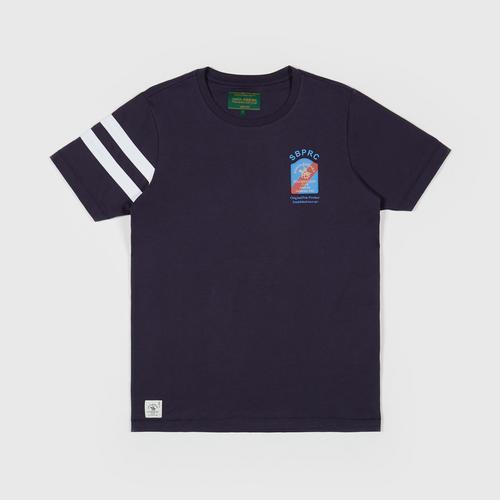 SANTA BARBARA T Shirt  NAVY SIZE S